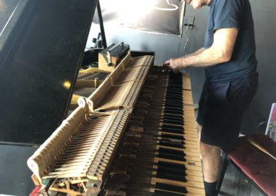 Tuning the Piano at Marina Wine