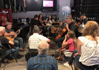 Open Mic Jam at Marina Wine